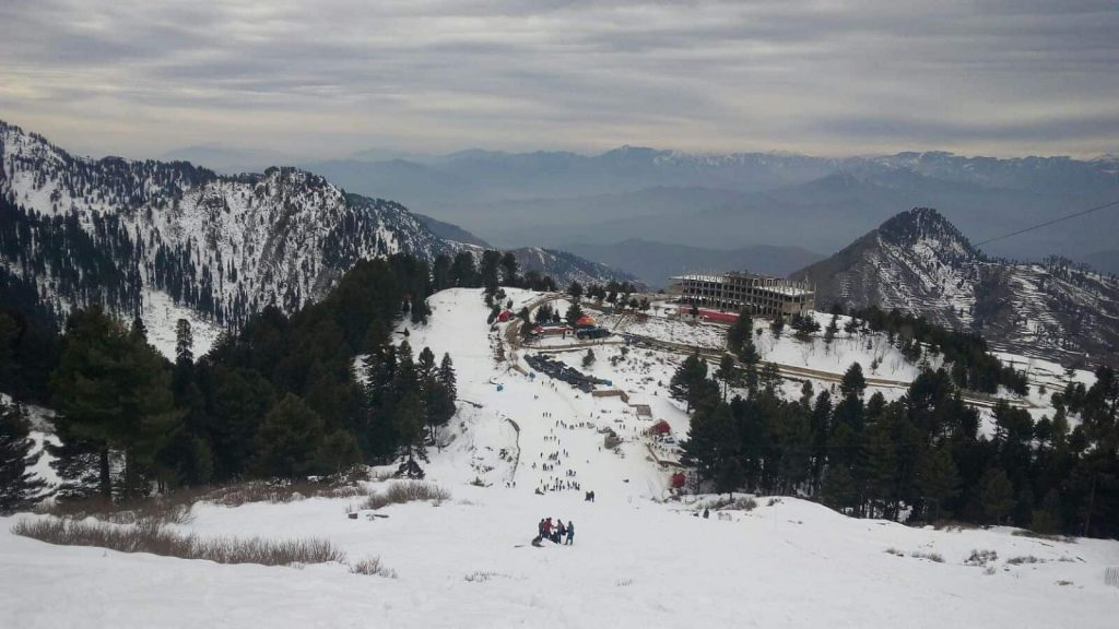 Skiing Resort in Malam Jabba